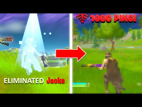 Download every death my PING gets HIGHER in fortnite... 1000 ping Mp4 baru