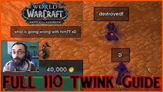 How to Become POWERFUL 110 TWINK in BFA in 21 STEPS! [EASY Guide That WORKS]