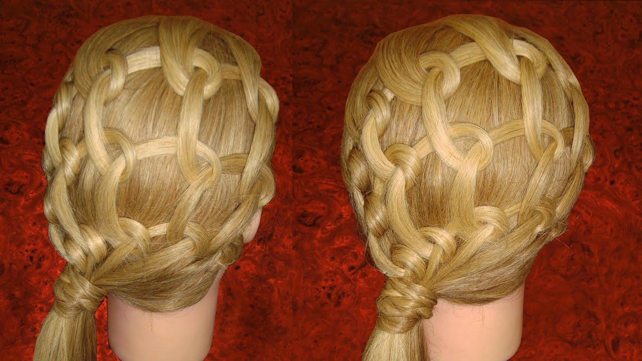 Как из волос сделать сеточку 89