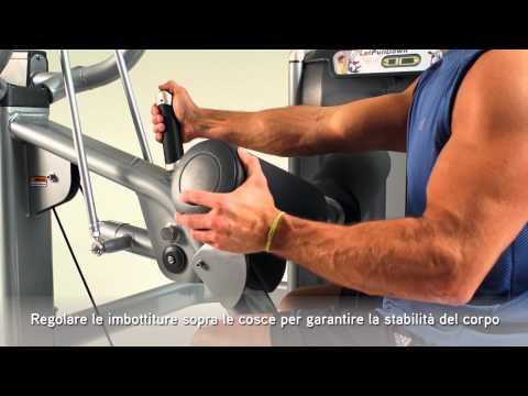 Matrix Fitness Italia: ULTRA Lat Pulldown Italian