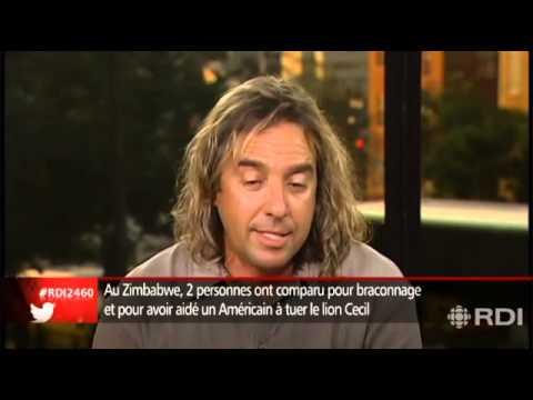 Entrevue Radio Canada avec Mario Huot