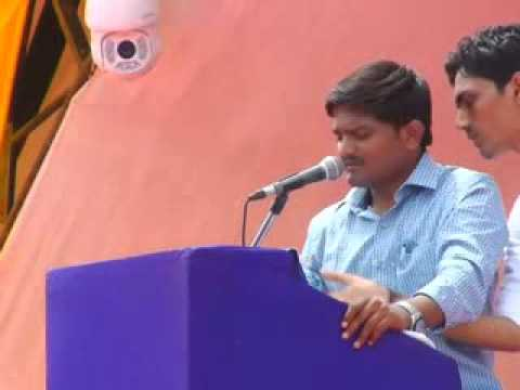 Patidar Anamat Andolan rally in Ahmedabad, Hardik Patel's speech