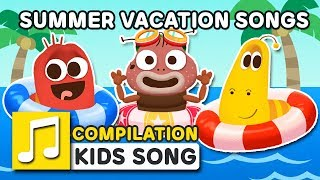 SUMMER VACATION | 35MIN | LARVA KIDS | HOLIDAY SONG | SUPER BEST SONGS FOR KIDS