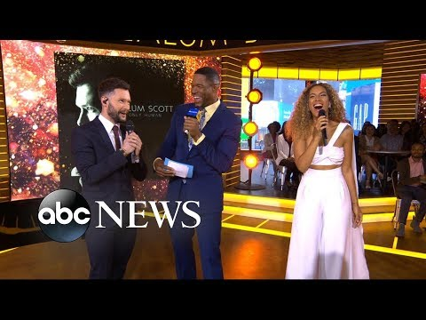 Download Lagu  Catching up with Calum Scott and Leona Lewis on 'GMA' Mp3 Free