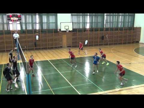 Malbork: 1/8 Mistrzostw Polski Juniorów W Siatkówkę Cz.4  - 10.02.2013