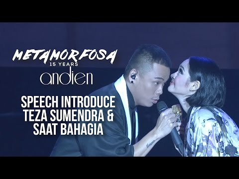 Andien Ft. Teza Sumendra - Speech Introduce & Saat Bahagia | (Andien Metamorfosa)