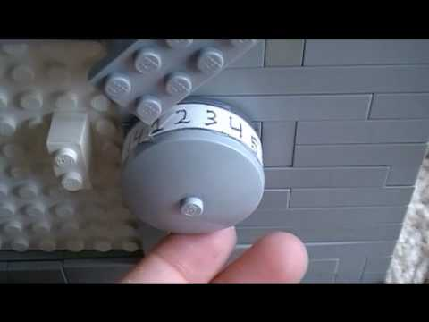 THE ULTIMATE-Lego Combination Lock