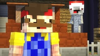 Minecraft - HELLO NEIGHBOR | REWINSIDE RASTET AUS!