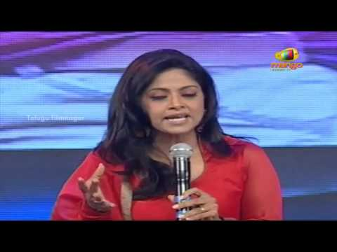 Nadhiya speech - Attarintiki Daredi Thank You Party - Pawan Kalyan, Samantha, Trivikram Srinivas