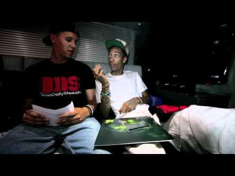 Wiz Khalifa Interview (Talks Planking, Ninja Turtles, Jhene Aiko & more)
