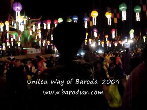United Way of Baroda Garba 2009 Part 1