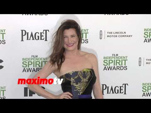 Kathryn Hahn In Bibhu Mohapatra 2014 Spirit Awards ARRIVALS