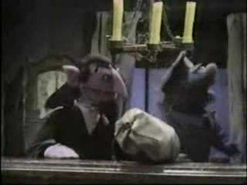 The Count counts letters to himself - Classic Sesame Street