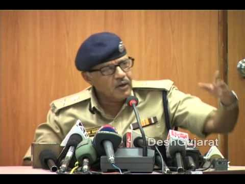 Gujarat Police Chief briefs media on fake currency network operating from Bangladesh
