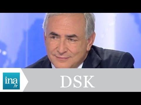 """DSK """"le gouvernement n'a pas de politique industrielle"""" - Archive INA"""