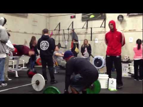 Haiti Decathlon Exercise #1 Clean & Jerk Image 1