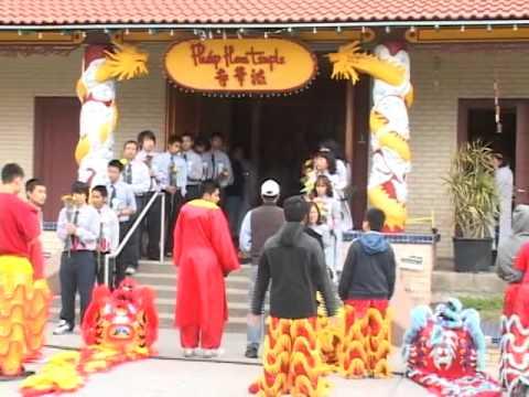 Cung Nghinh Phật Ngọc Tại Chùa Pháp Hoa - Wichita, Kansas