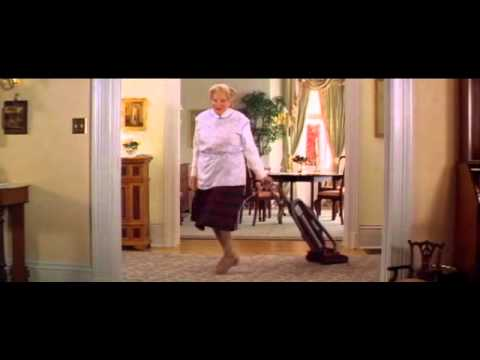 Mrs. Doubtfire Cleaning Scene