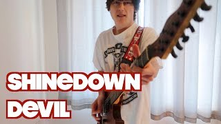 "Download Lagu SHINEDOWN - ""DEVIL"" - Guitar Cover Gratis STAFABAND"