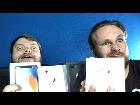 Прямой эфир: отдаем iPhone X, 8 и 8 Plus!