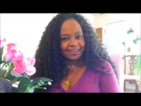 Crochet Hair Aruba Curl : FREETRESS ARUBA CURL CROCHET BRAIDS THX EBONYLINE.COM - YouTube