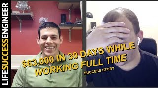 $63,000 In 30 Days While WORKING FULL TIME | Online Arbitrage Success Story | Jake Diego 🏆