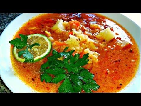 Суп харчо.   Супы на обед