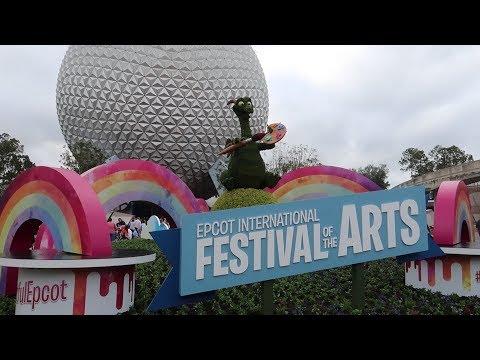 Disney World's International Festival Of The Arts 2018! | Food Reviews, Artist Highlights & Merch