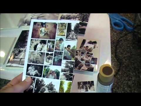 How to Make Photo Tile Coasters ...30 Days of Pinterest!!