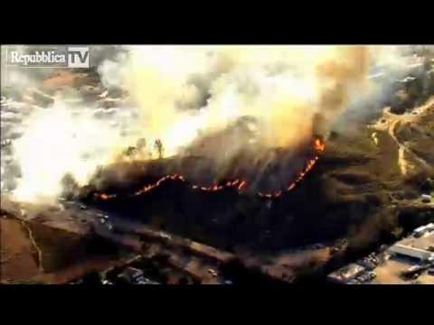 Usa, California: incendi, migliaia di pers…