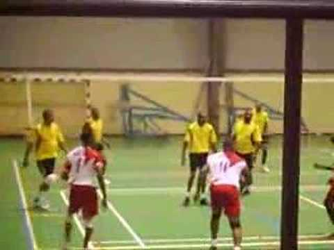 Volleball - Base line spike.... Video