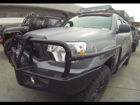 Toyota Tacoma : expedition overland vehicle (aka bug out vehicle)