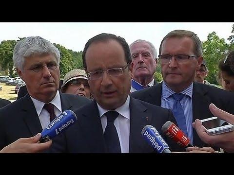 """Maïs OGM : Hollande annonce une """"prolongation du moratoire"""" - 02/08"""