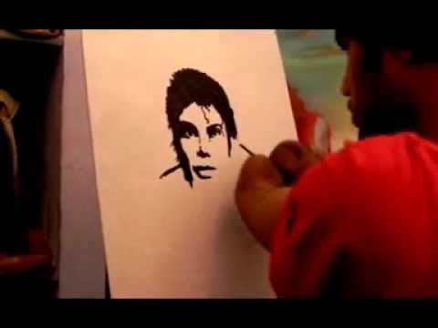 Dhaval Khatri Making  A King Of Pop Michel Jackson.3gp video