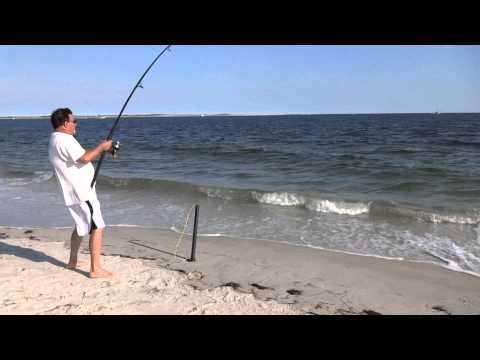 Surf Fishing with Slap Jackson July 4, 2014