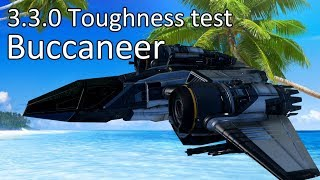 3.3.0 Toughness test: Buccaneer - buy a shield generator!