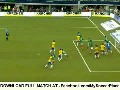 Brazil vs Mexico 0:2 FULL MATCH HIGHLIGHTS (Friendly, 03.06.2012)