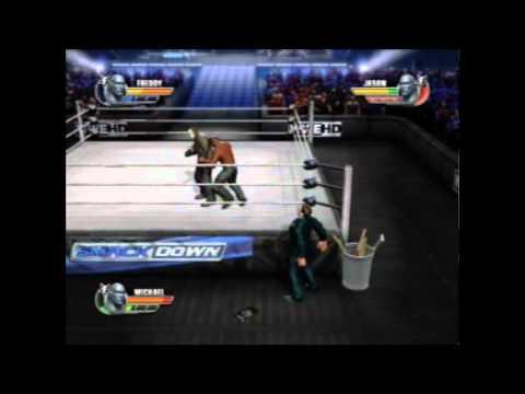 WWE All Stars Freddy Krueger Vs. Jason Voorhees Vs. Michael Myers