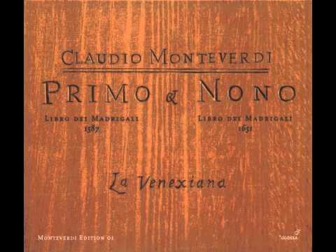 Монтеверди Клаудио - Alcun non mi consigli