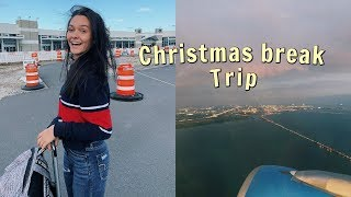 Packing for a Christmas break trip | Pack with me