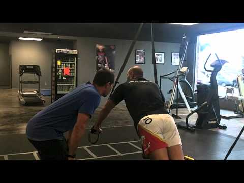 Strength training at Alliance Training Center with UFC fighter Brandon Vera Image 1
