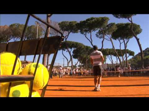 Nadal Takes Part In Rome Kids Clinic