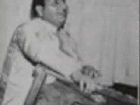 Mohammad Rafi ghazal- Bazeecha-e Atfal hai