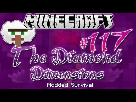 VILLAGE IN THE SKY | Diamond Dimensions Modded Survival #117...