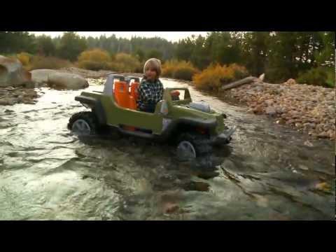Power Wheels Jeep Hurricane with Creek Crossing