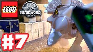 LEGO Jurassic World - Gameplay Walkthrough Part 7 - Dinosaur Rescue! (PC)