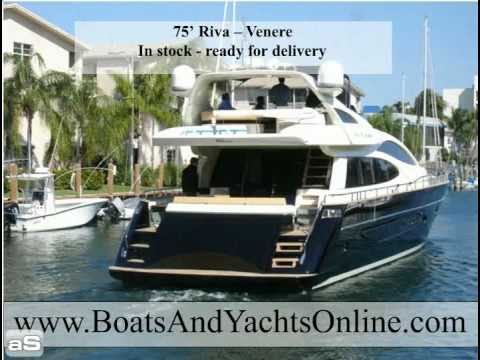 75' Riva Venere.m4v. 1:20. Call me for information on and used Riva Yachts ...