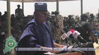 Remarks by Gov. Shettima at the formal opening of the Nigerian Army Small Arms Championship