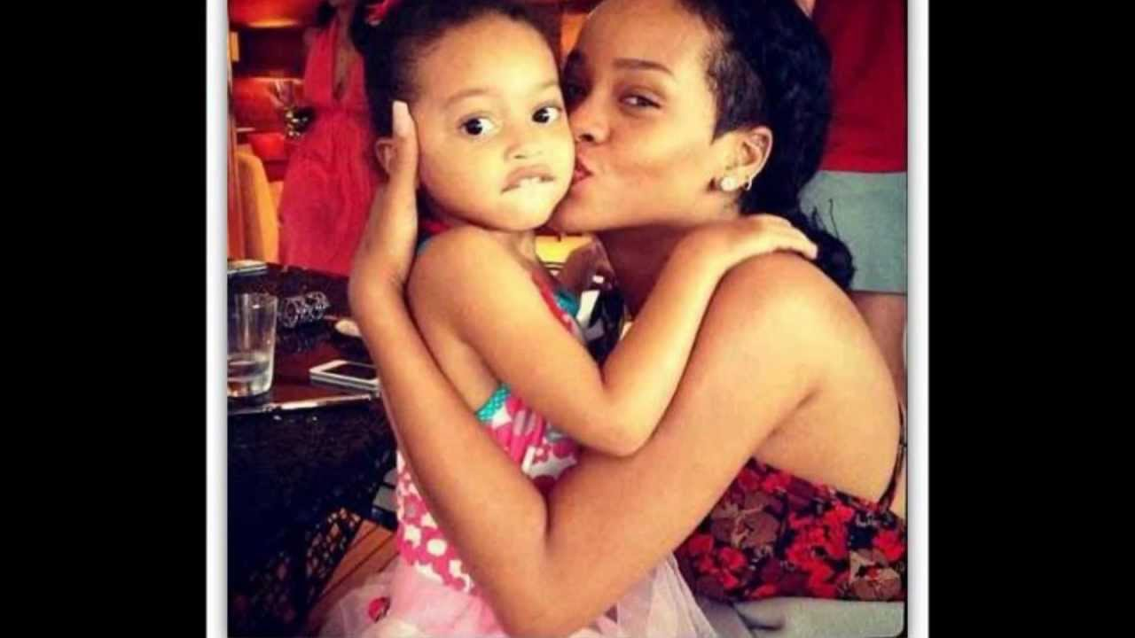 Rihanna And Her Adopted Daughter Rihanna  Cute