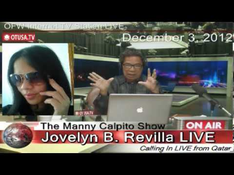 Beso Beso sa OTUSA.TV ni Jovelyn B. Revilla_ Episode 1_ Dcember 3, 2012_ The Manny Calpito Show